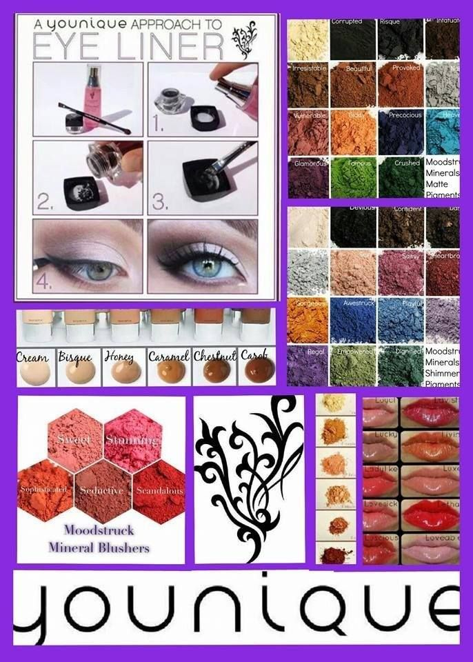 The Younique Makeup Choices