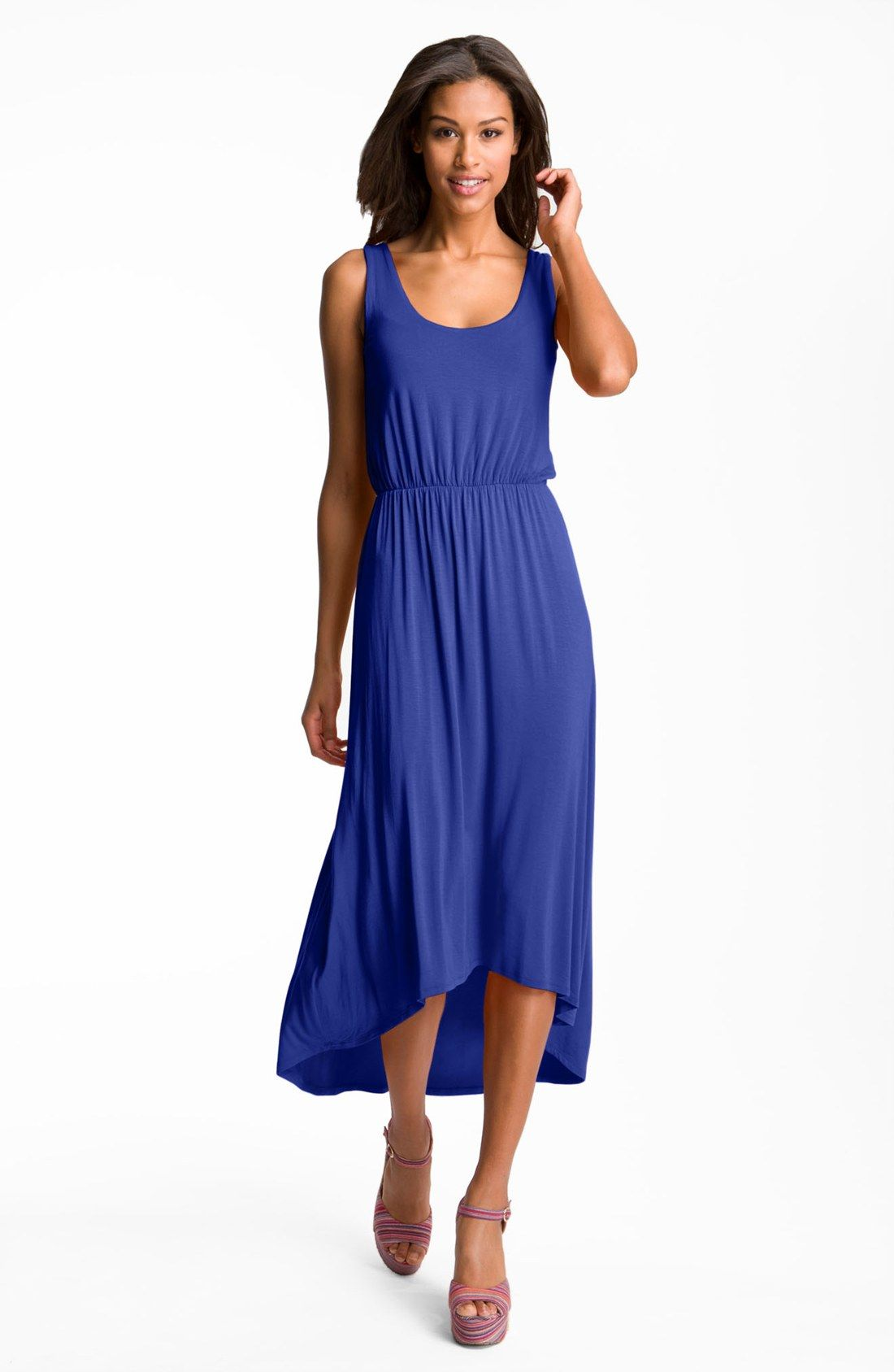 FELICITY & COCO High/Low Hem Jersey Tank Dress (Nordstrom Exclusive ...