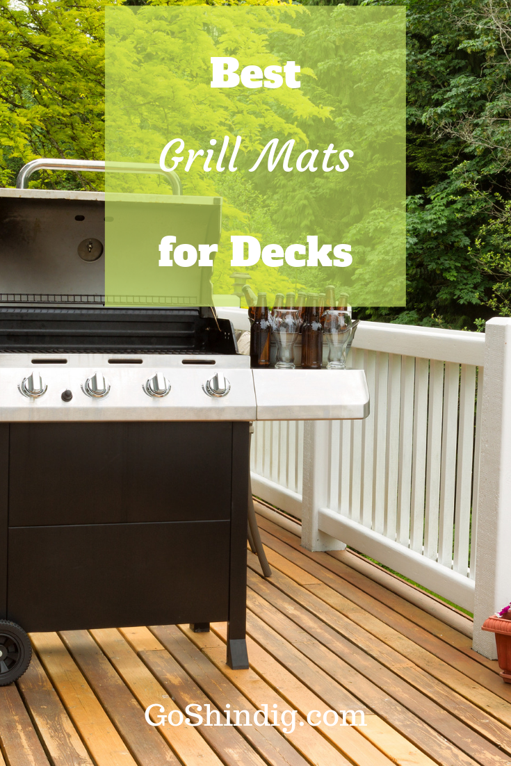 Best Grill Mat For Decks Great For Composite And Wooden Decking Wood Deck Deck Wooden Decks