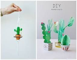 Photo of printable paper cactus – Google Search
