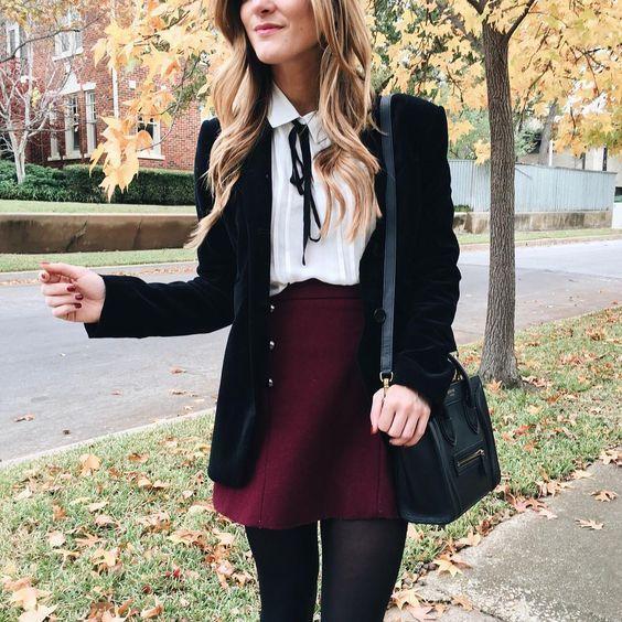 15 Adrette und schicke Back To School Outfits #backtoschool