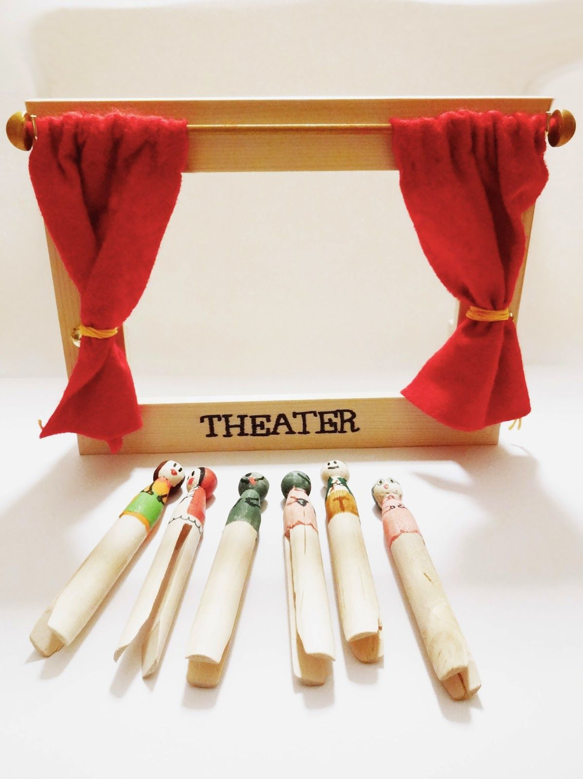 basteln malen kuchen backen mini puppentheater tischtheater pinterest puppentheater. Black Bedroom Furniture Sets. Home Design Ideas