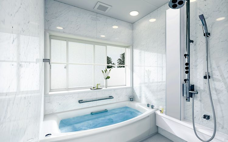 A Modern Bathroom Design That Manages To Avoid Looking Cold And Pleasing Bathroom Designers And Fitters Design Ideas