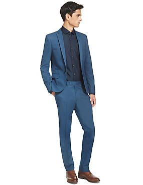 Blue Super Slim Fit Suithttp://www.marksandspencer.com/l/men/mens ...