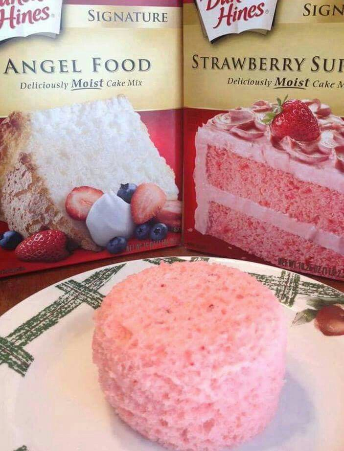 Personal Cake Mix Two Full Packages Of C Ake Mixes In A