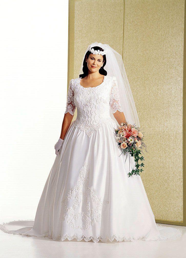 Plus+Size+Wedding+Dresses+with+Sleeves bridal Plus Size
