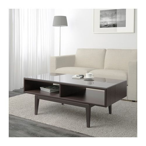 REGISSÖR Coffee table, brown, glass Coffee, Living rooms and - designer moebel weiss baxter