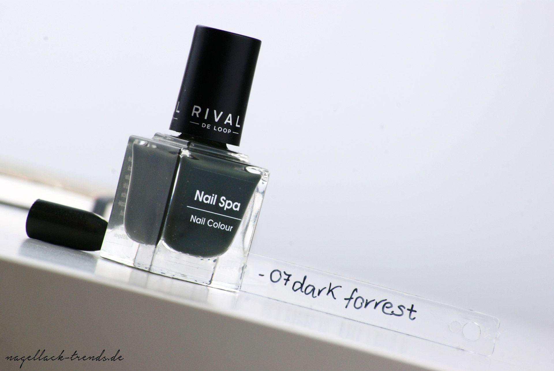 Rival de Loop - Nail Spa Nagellacke - 07 Dark Forrest | Nail spa ...