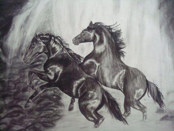 Horse Drawing Source - http://tzigone510.deviantart.com/art/Horses-78939786