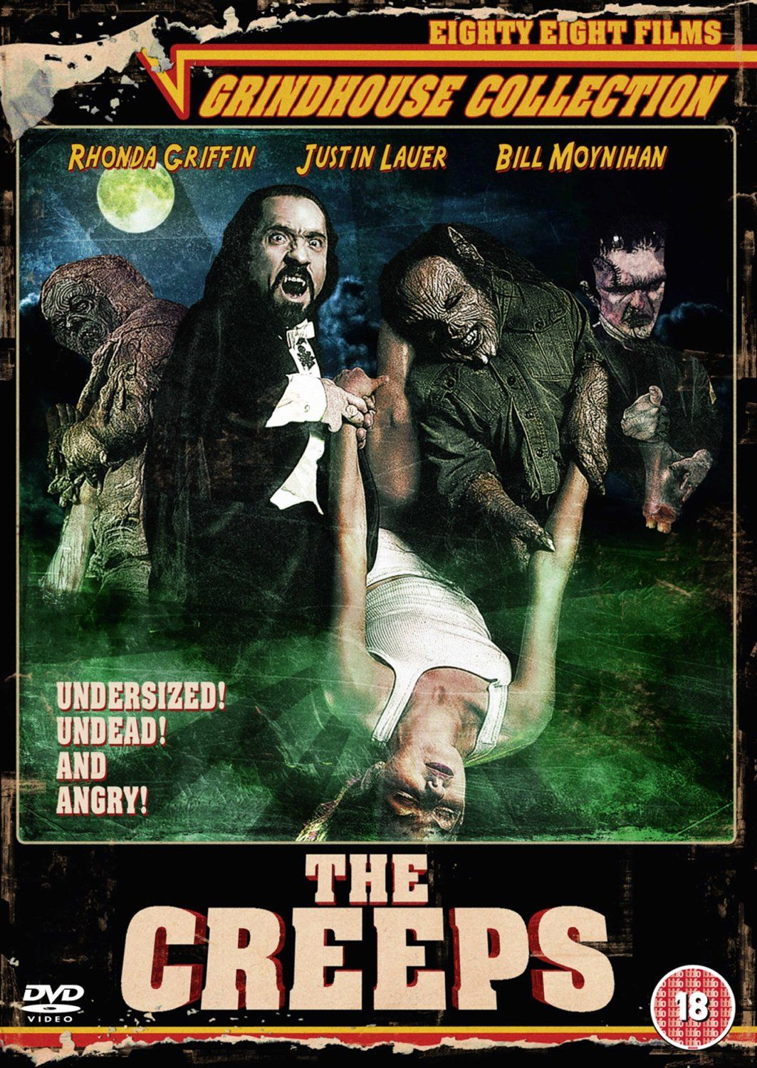 The Creeps (1997) Grindhouse, Horror, Comedy