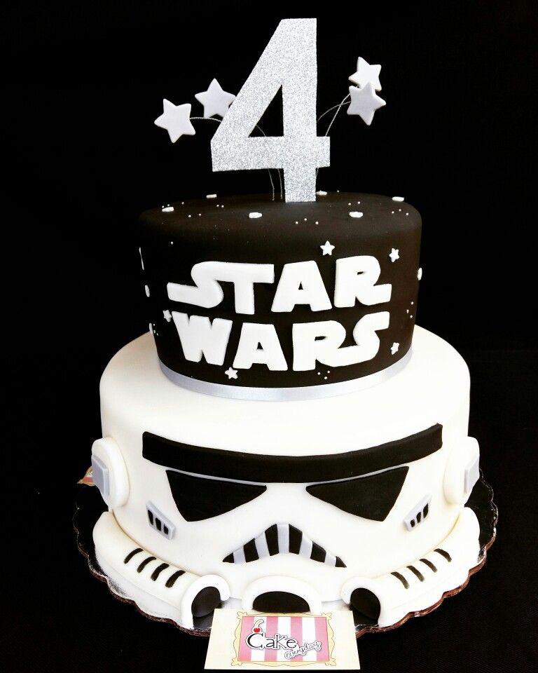 Star wars cake Pastel de star wars Pinteres