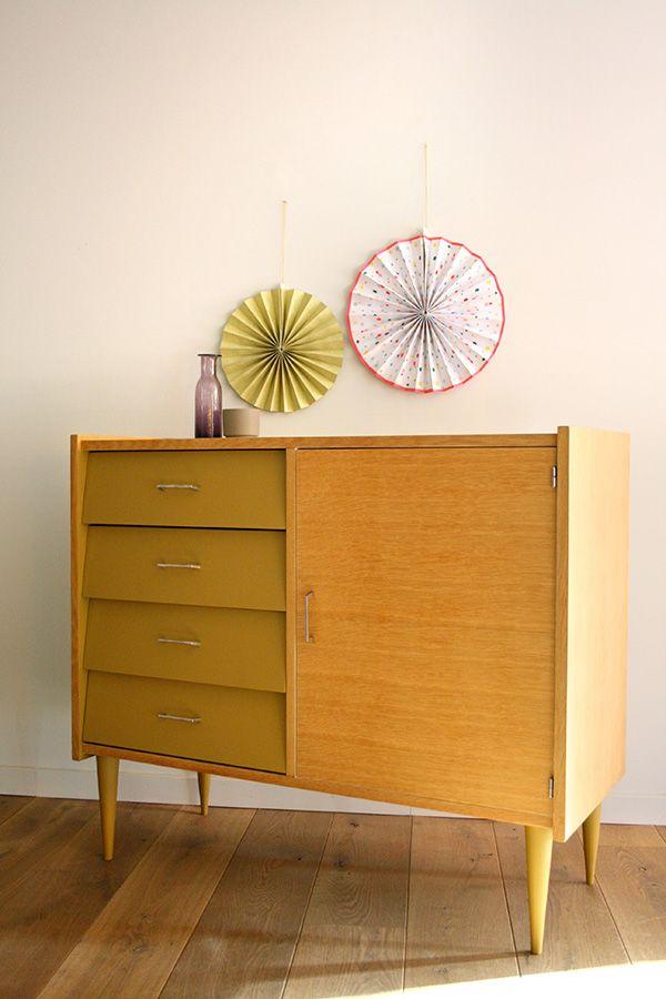 meubles commode buffet vintage margot 4 r nov s. Black Bedroom Furniture Sets. Home Design Ideas