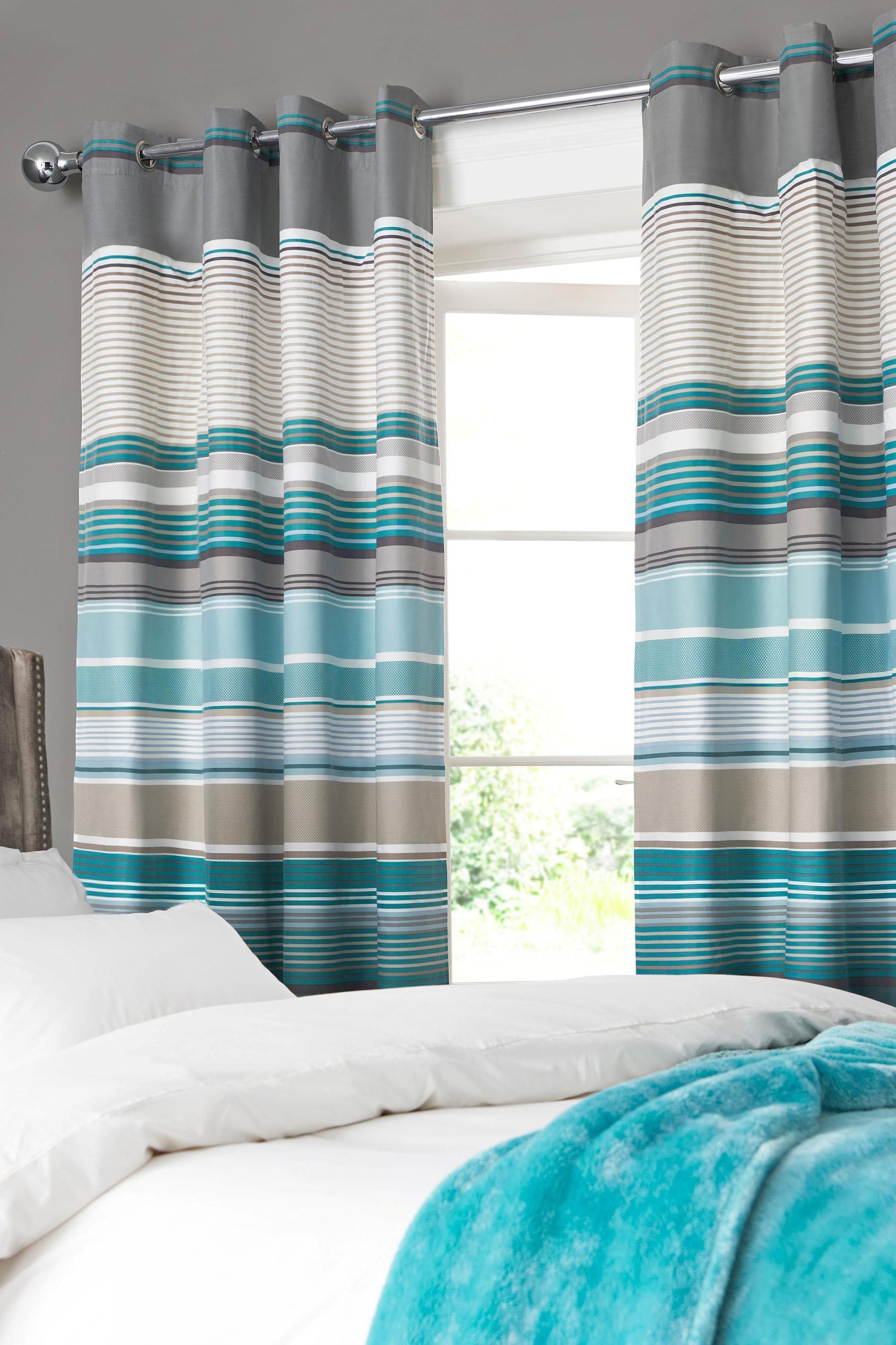 bold stripe pin curtains dream striped curtain home pinterest