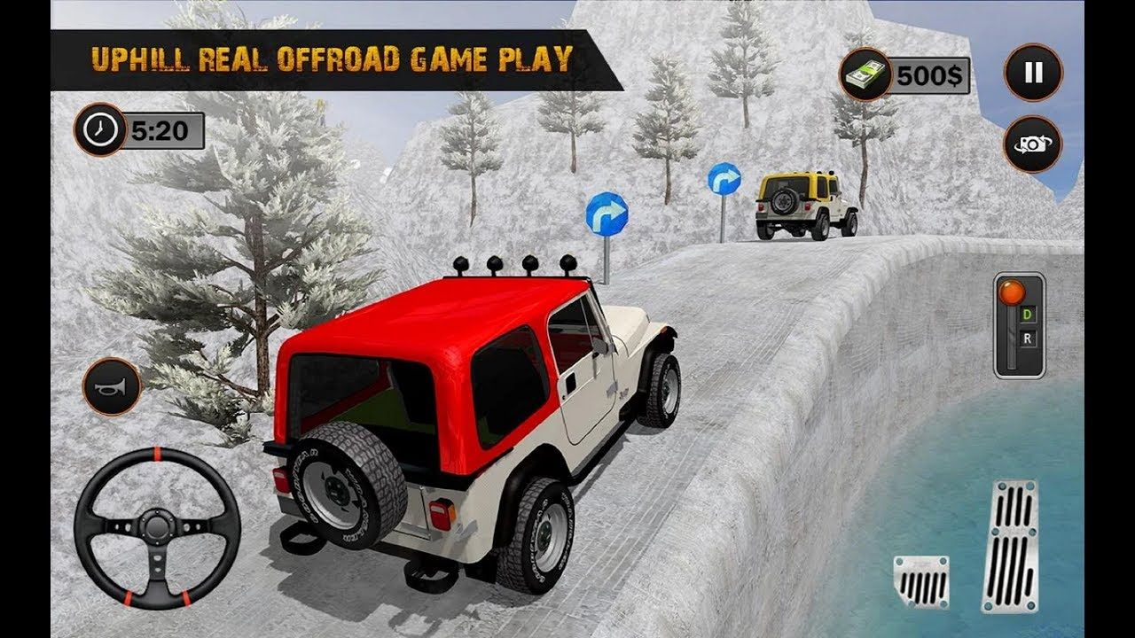 Offroad Jeep 4x4 Hill Climb Crazy Mountain Driver Android