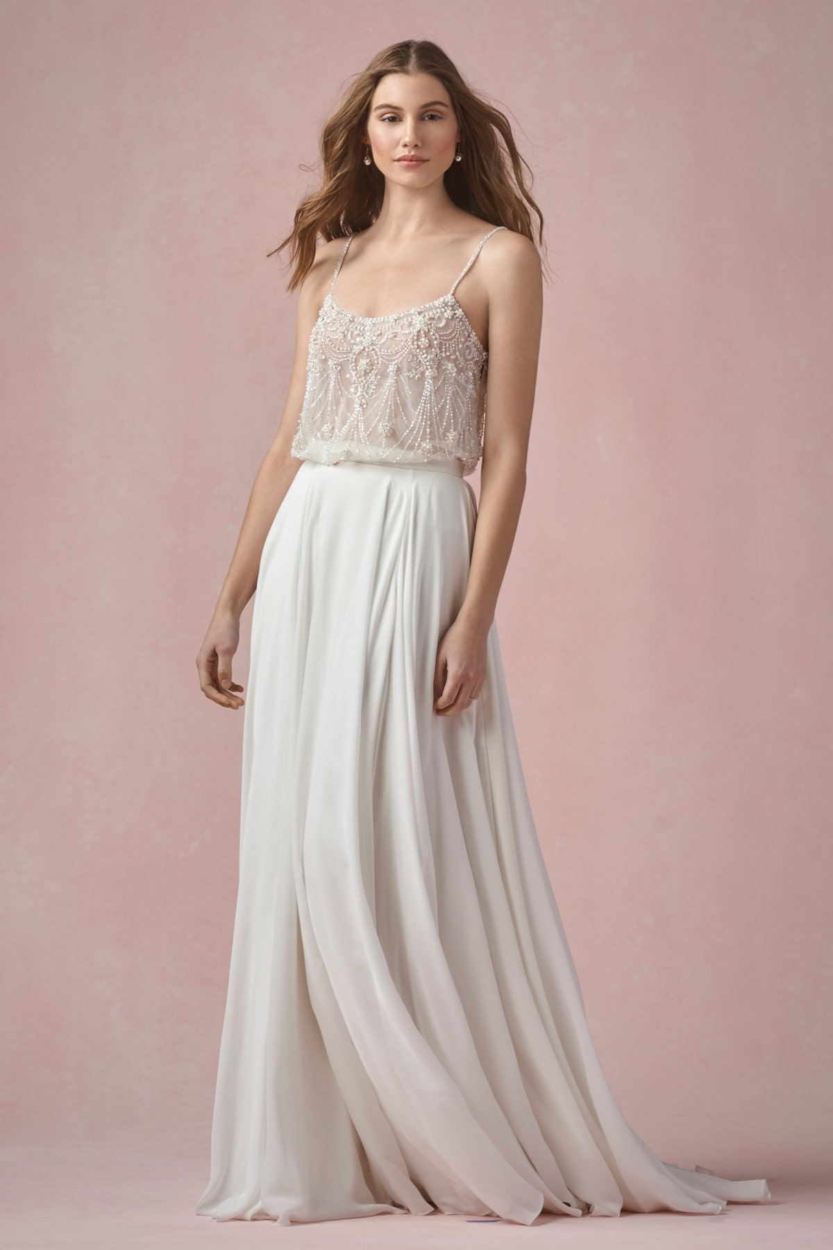 Willowby by Watters Ruby is an effortless bridal skirt