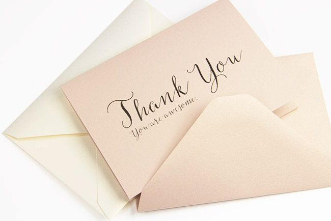 Free Thank You Cards Instant Download Pdf Templates With Images