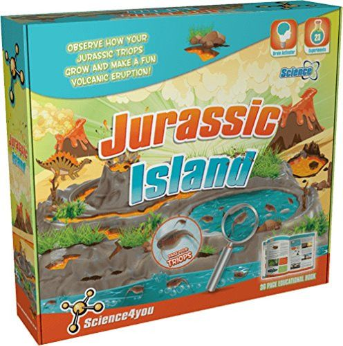 Jurassic Island Science Kit W Triops By Science4You