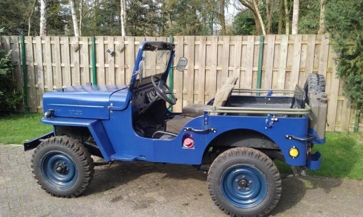 Willys Jeep Cj3b Nekaf Mahindra 1956 Maintenance Restoration Of