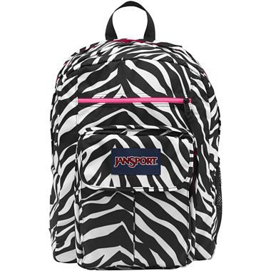 JanSport® Digital Big Student Backpack in Zebra Print - jcpenney ...