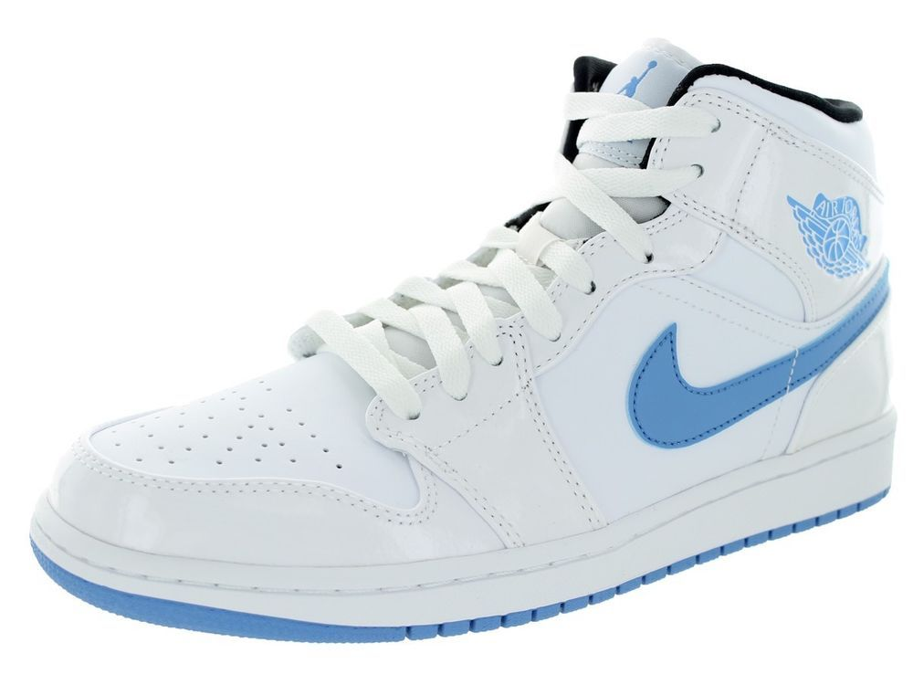 Nike Air Jordan 1 Men's Leather Medium (D, M) Width Basketball Shoes | eBay