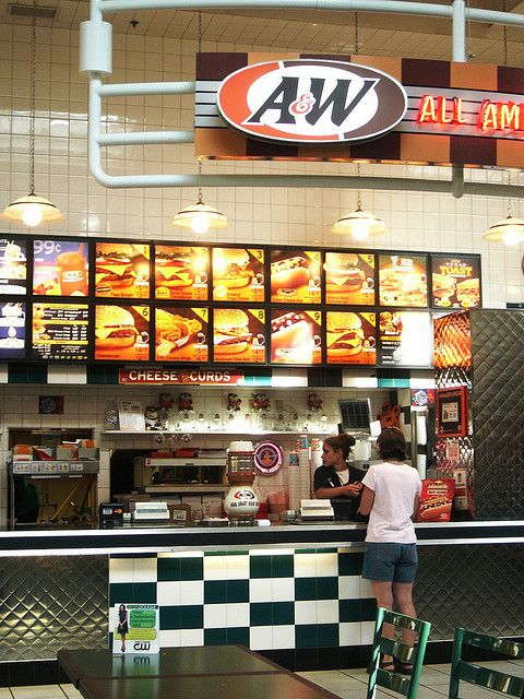A&W Restaurant | Restaurant - Green Bay, WI (Bay Park Square Mall) | Flickr - Photo ...