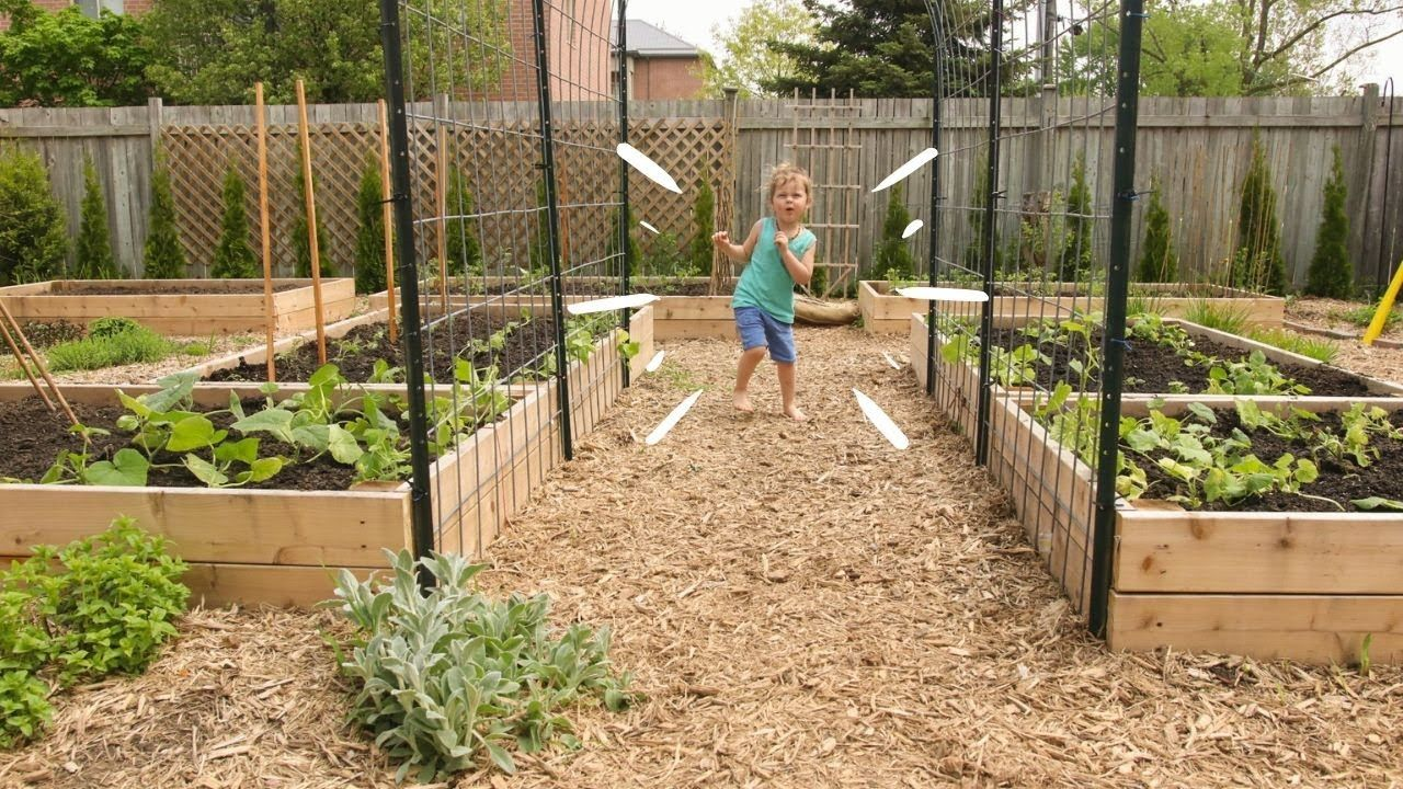 Easy Raised Garden Beds How To Youtube In 2020 Easy