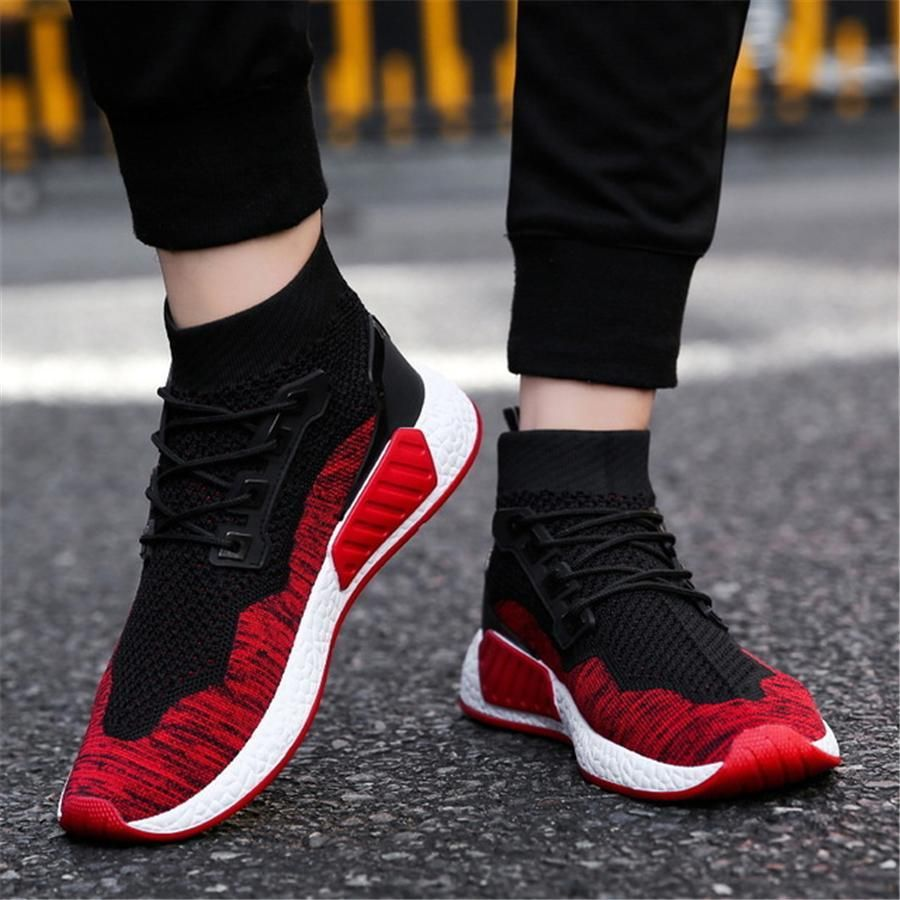 Realistic Gold Red 2018 Basketball Shoes For Men High Top Sports Air Cushion Sneakers Breathable Trainers Basket Zapatillas Big Size 37-45 Strong Resistance To Heat And Hard Wearing Remote Control Toys