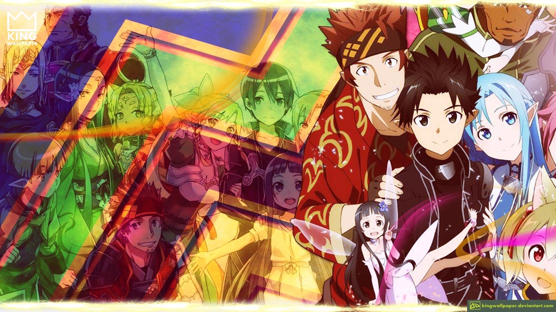 Sword Art Online 2 Wallpaper Kingwallpaper By Kingwallpaper