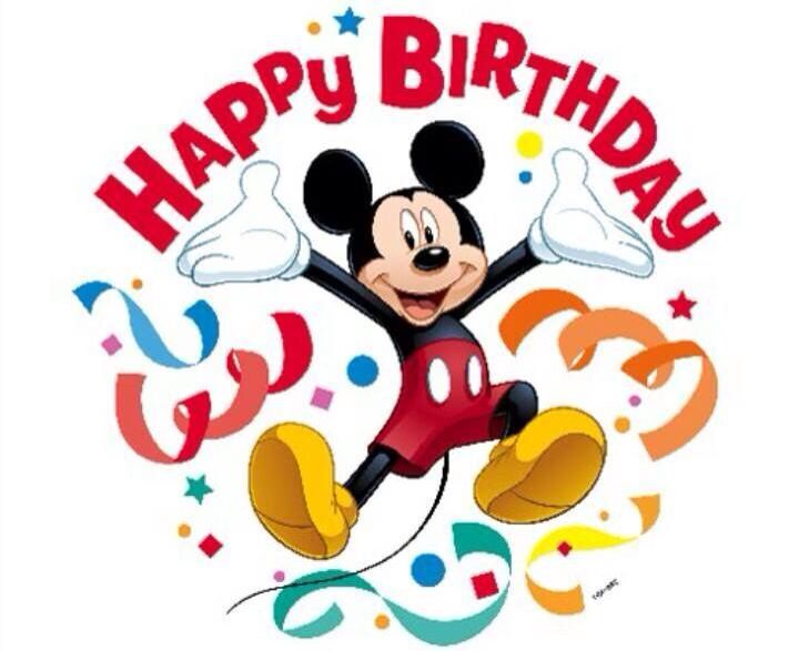 cute mickey wishes happy - photo #3