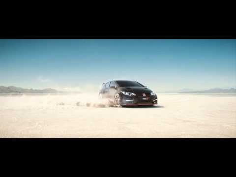 leer, rápido, honda, coche, desierto, palabras, Video: Honda's latest advert 'Keep up' tests your speed-reading abilities - YouTube