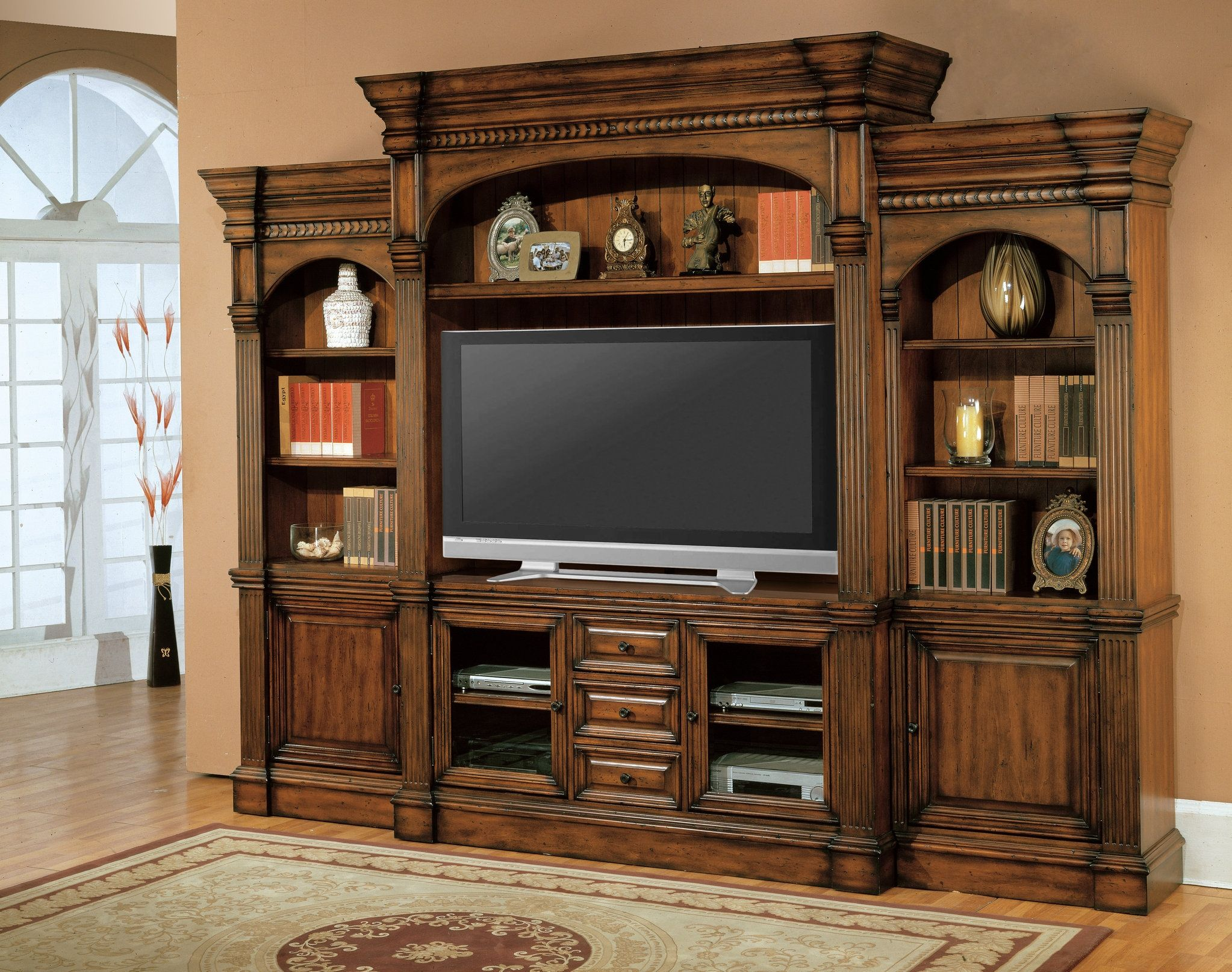 Flat screen tv wall mounted cabinet with doors franzdondi