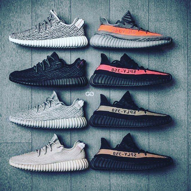 all yeezy styles