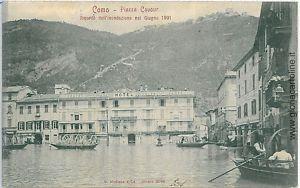 Como, flooding 1901