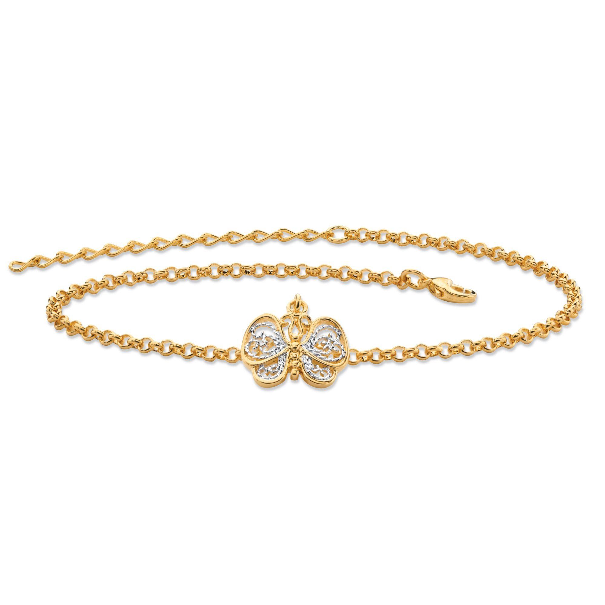 yellow karat thick category jewels archives product anklets elle by singapore chain bracelet anklet ankle gold