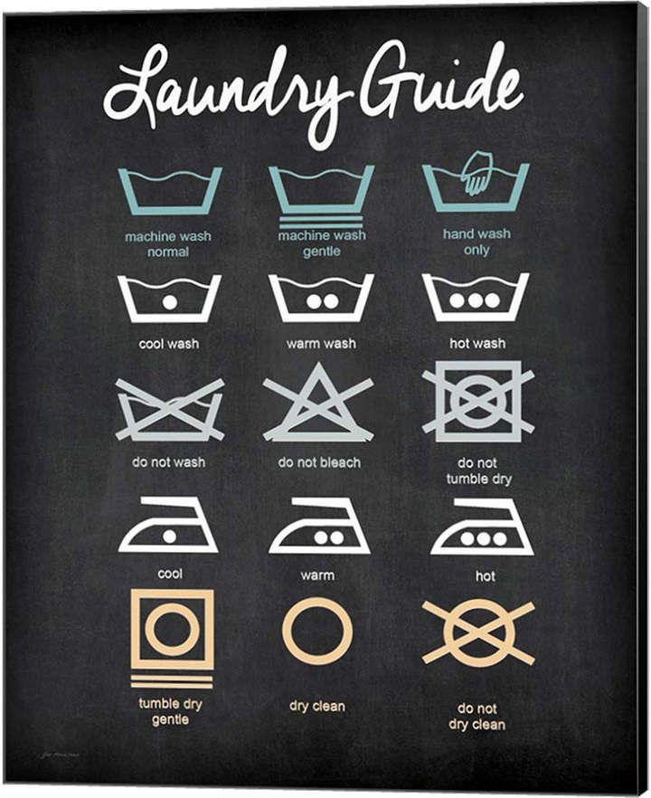 Metaverse Laundry Guide By Jo Moulton Canvas Art Washok