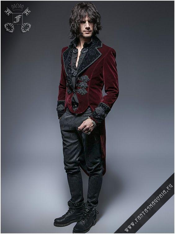 Y-635,y635,y-635rd,red,gothic,mens gothic clothing,romantic,punk rave, punkrave,palace,elegant,aristocrat c9e634f22a
