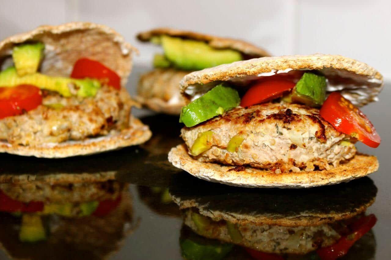 Turkey, Quinoa and Apple Burgers   Recipe   Turkey burgers ...