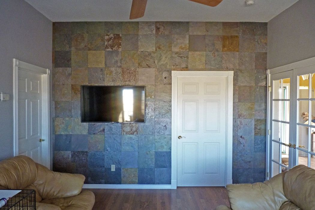 Pin On Living Room Redo #stone #tiles #for #living #room #wall