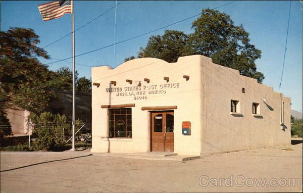 Post Office In Mesilla Old Buildings Las Cruces Land Of Enchantment