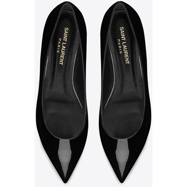 Ballerina Flat In Black Patent Leather