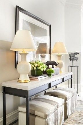 Image result for console table with bench underneath Furniture