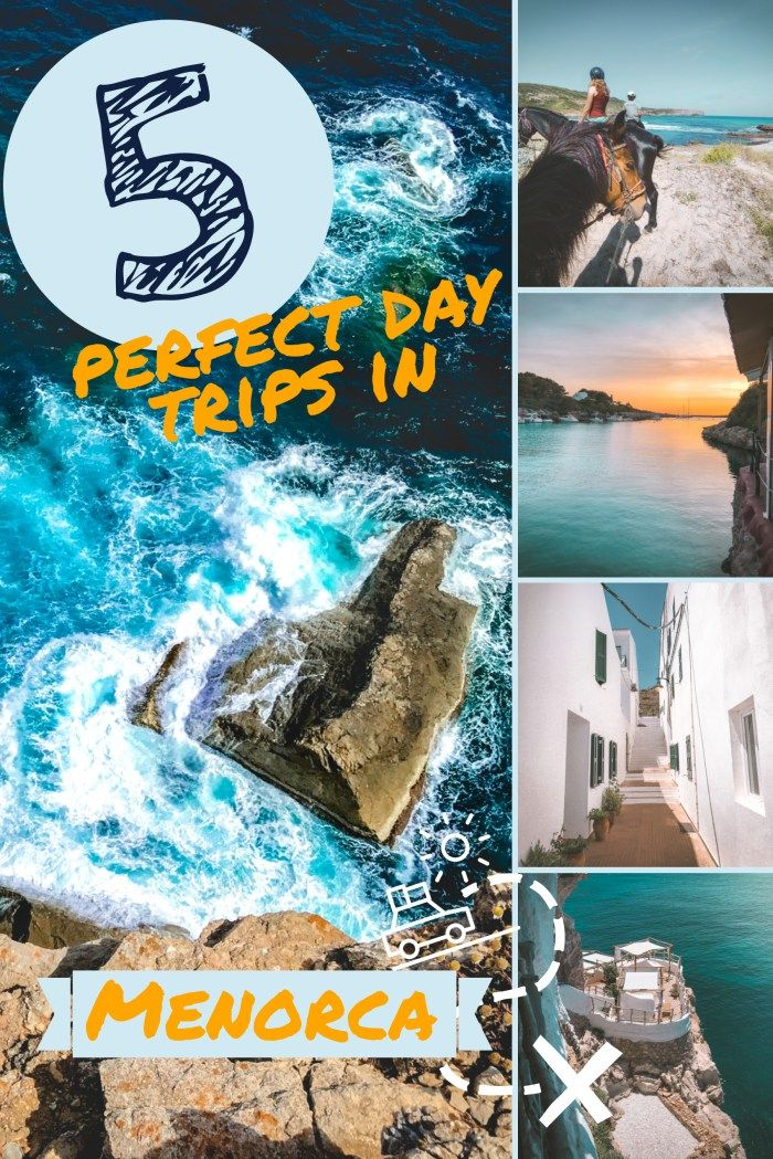 What to do in Menorca in one day? 5 perfect itineraries #spanishthings