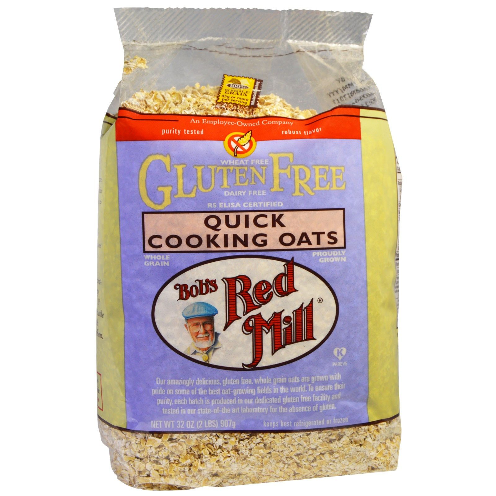 Bobs red mill quick cooking oats gluten free 32 oz