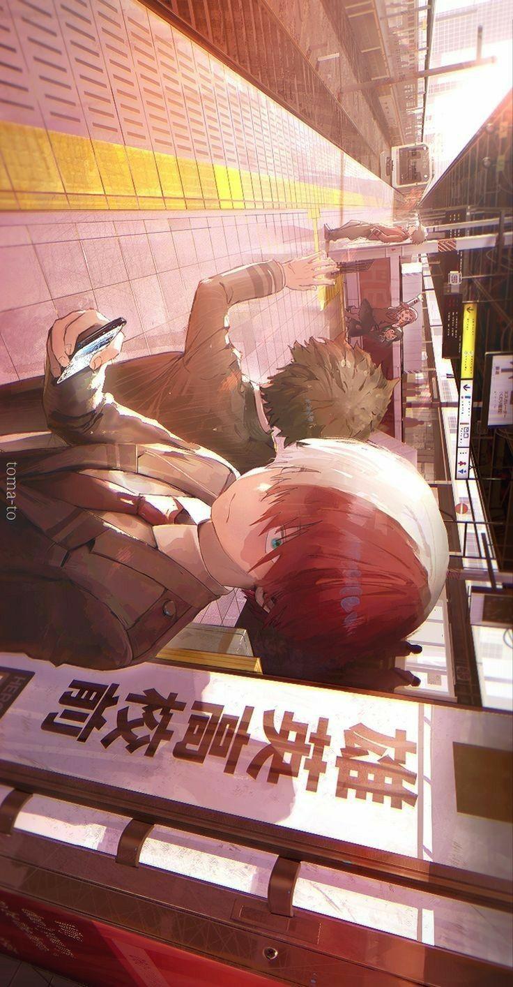 anime wallpaper my hero academia ; anime wallpaper kimetsu no yaiba