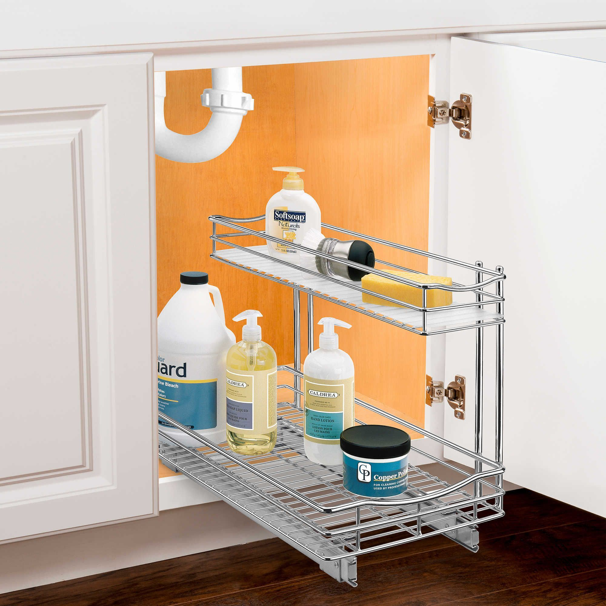 The Best Cabinets For Your Kitchen Under Sink Drawer Cabinet Organization