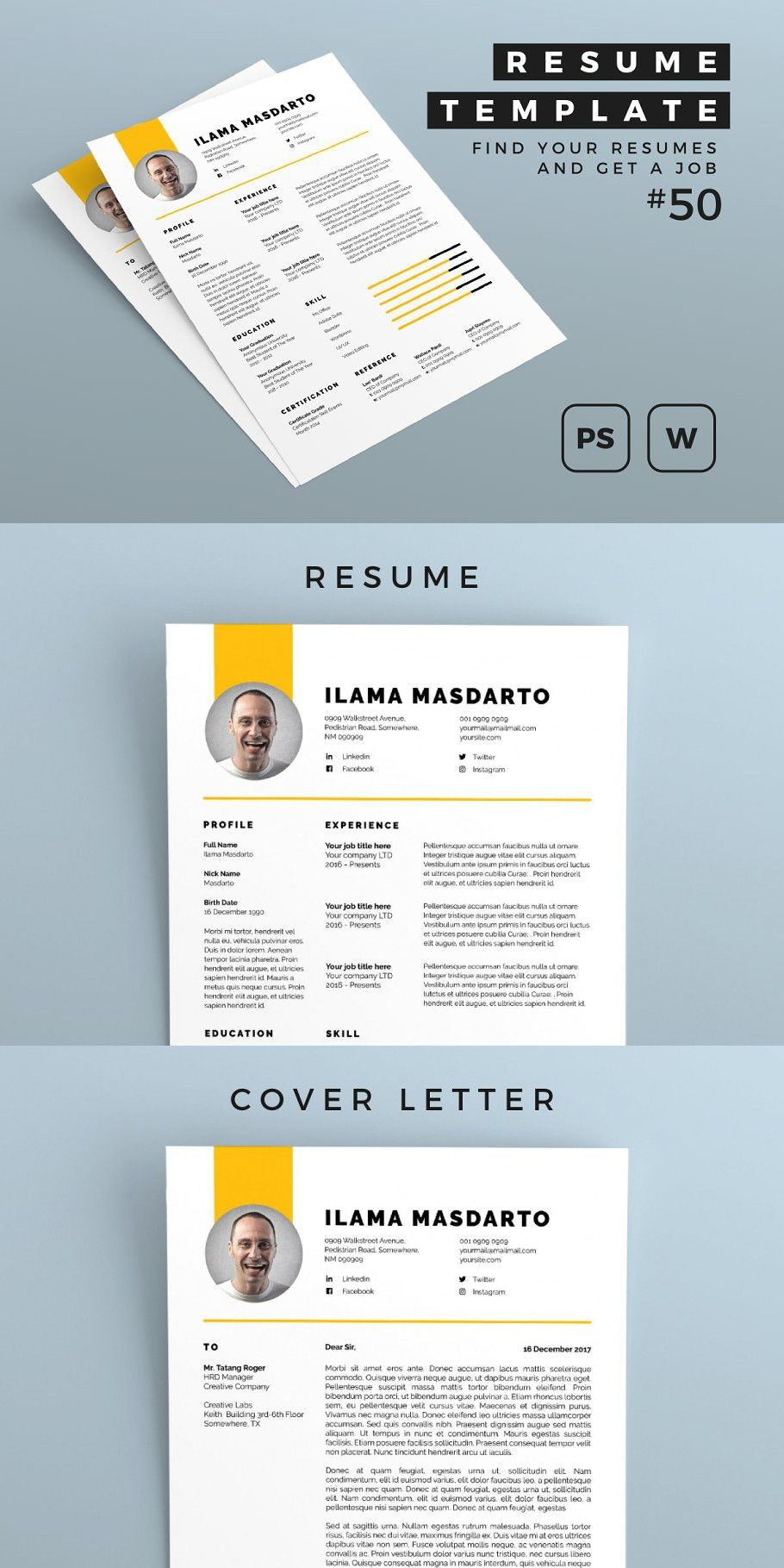 Resume 50 in 2020 Simple resume template, How to make