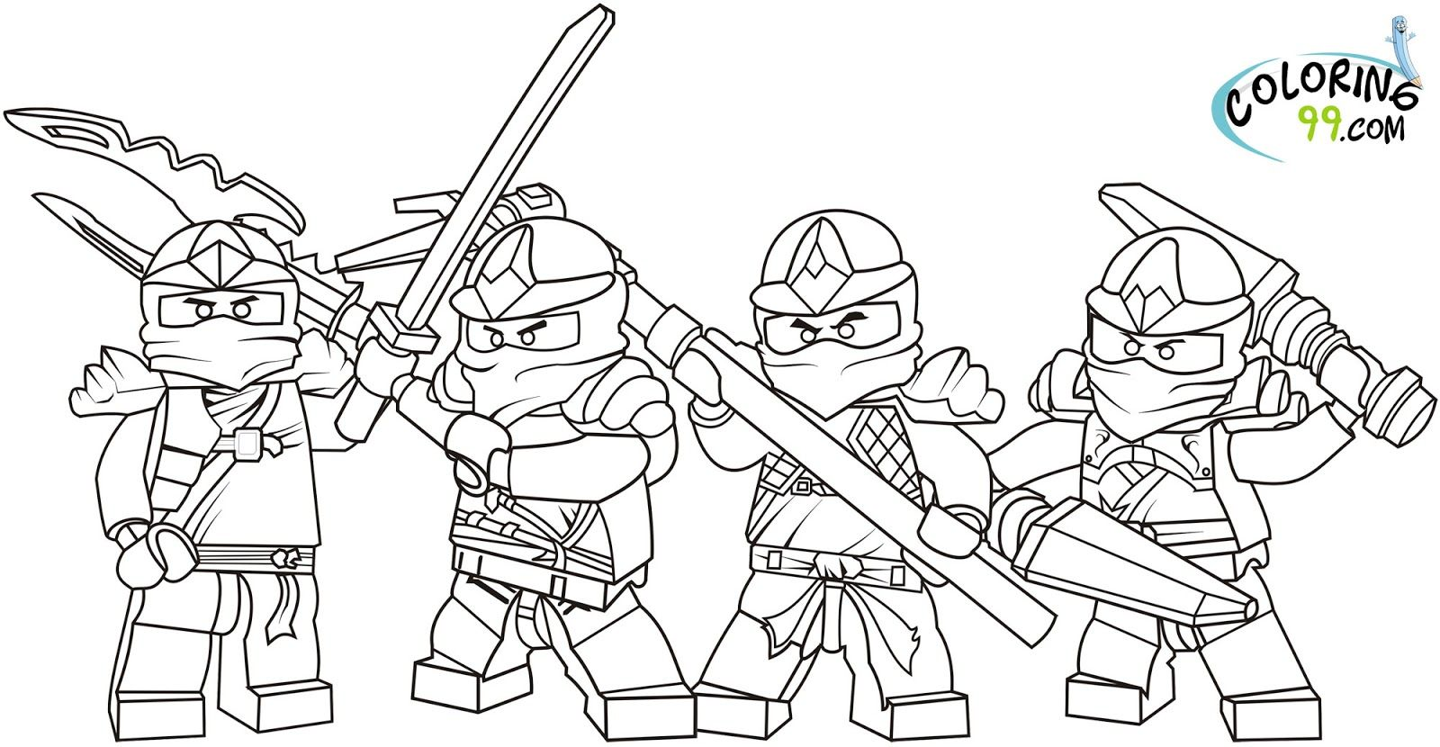 Images Of Ninjago Coloring Pages