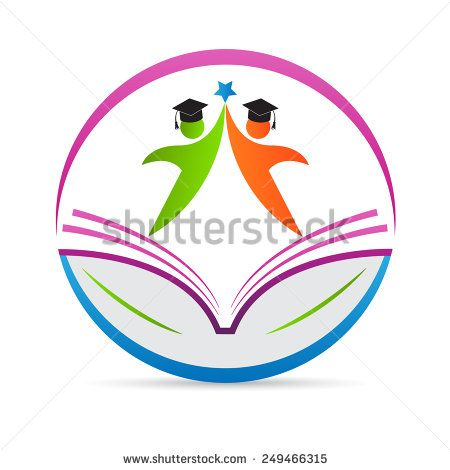 Education Logo Vector Design Represents School Emblem Concept