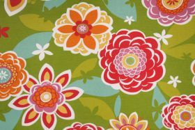 The Fabric Cellar Clearance 11 Yards Richloom Titan Printed