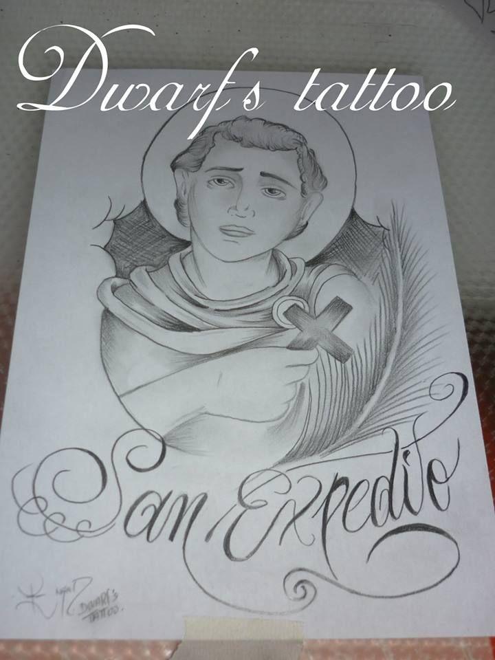 Diseño De San Expedito Maorí Pinterest Tattoos Y Santos